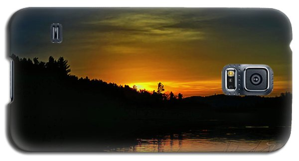 Bass Lake Sunrise Duck Galaxy S5 Case