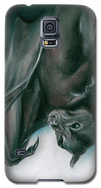 Bat Just Hanging Around Galaxy S5 Case