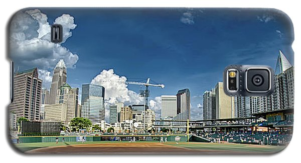 Bbt Baseball Charlotte Nc Knights Baseball Stadium And City Skyl Galaxy S5 Case