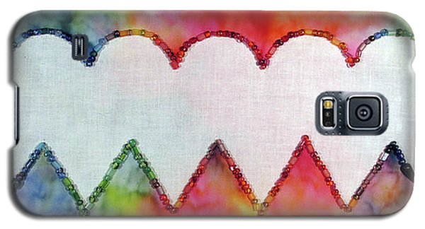 Be Still My Beaded Hearts Galaxy S5 Case