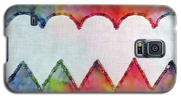 Be Still My Beaded Hearts Galaxy S5 Case