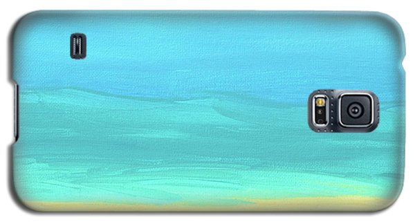 Beach Abstract Galaxy S5 Case
