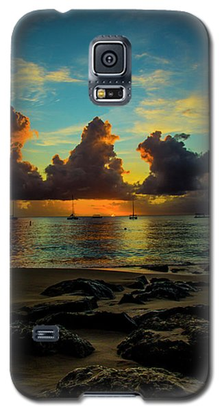 Beach At Sunset 2 Galaxy S5 Case
