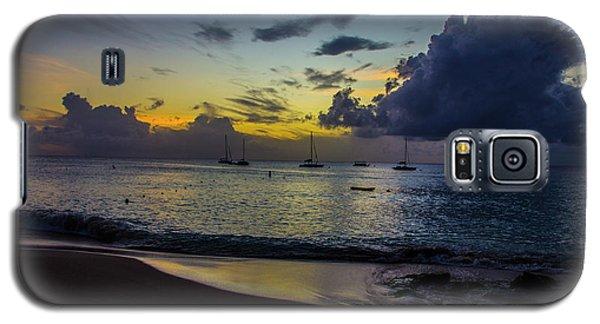 Beach At Sunset 3 Galaxy S5 Case