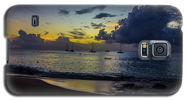 Beach At Sunset 3 Galaxy S5 Case
