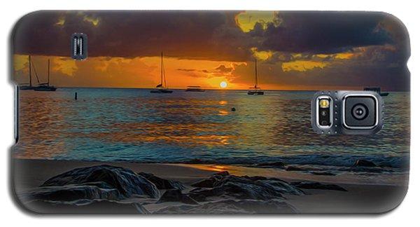 Beach At Sunset Galaxy S5 Case