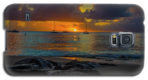 Beach At Sunset Galaxy S5 Case
