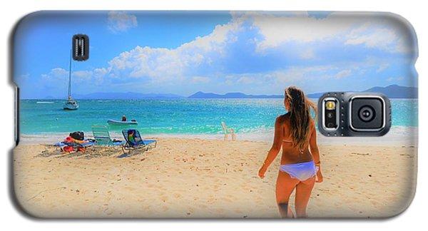 Beach Day Galaxy S5 Case