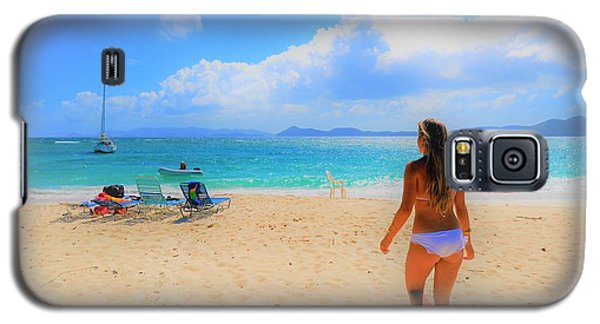Beach Day Galaxy S5 Case