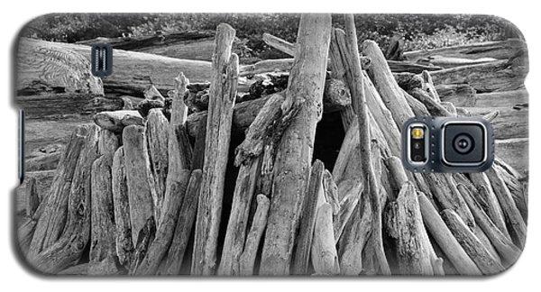 Beach Fort Galaxy S5 Case