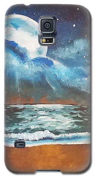Beach Moon  Galaxy S5 Case