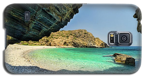 Almiro Beach With Cave Galaxy S5 Case