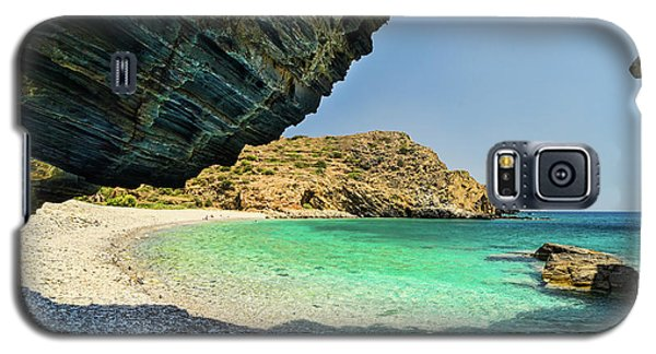 Almiro Beach With Cave Galaxy S5 Case