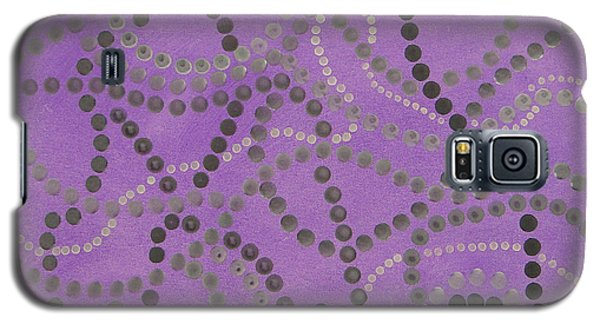 Beads And Pearls - Gray Galaxy S5 Case