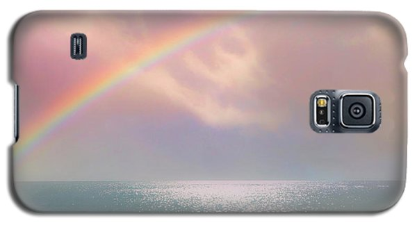 Beautiful Morning In Dreamland With Rainbow Galaxy S5 Case