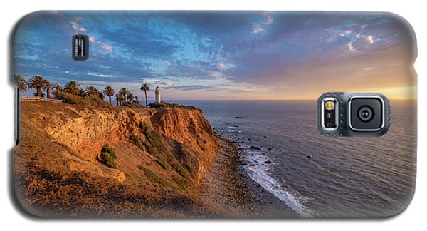 Beautiful Point Vicente Lighthouse At Sunset Galaxy S5 Case