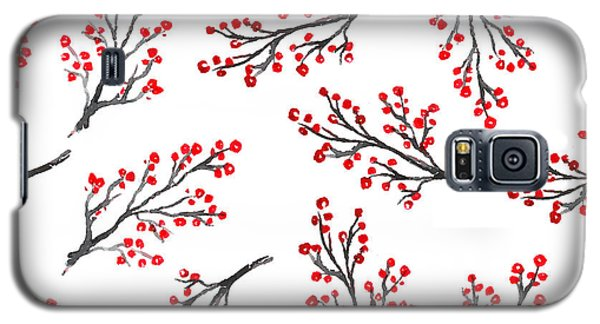 Branch Galaxy S5 Case - Beautiful Seamless Pattern In by Sibiranna