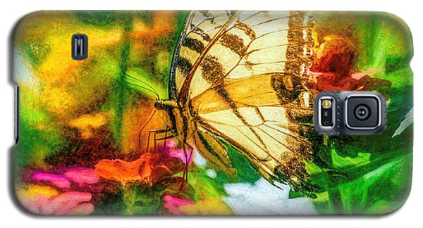 Beautiful Swallow Tail Butterfly Galaxy S5 Case
