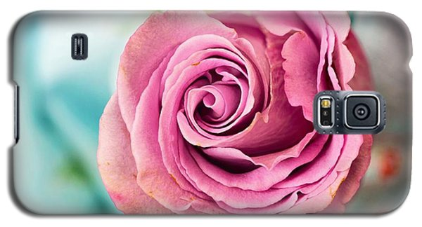 Beautiful Vintage Rose Galaxy S5 Case