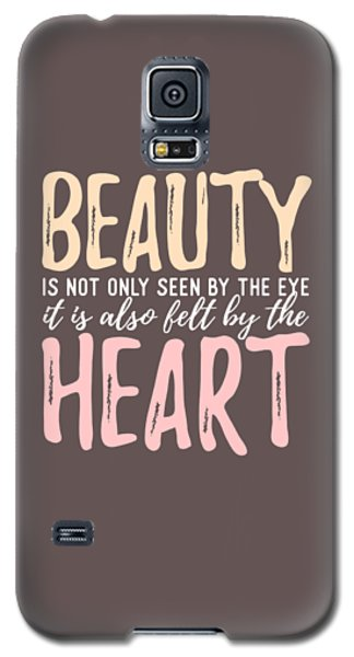 Beauty Heart Galaxy S5 Case