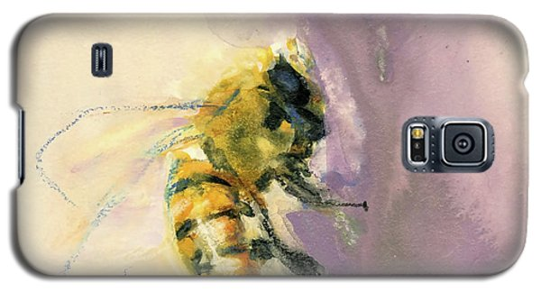 Bee On Lavender Galaxy S5 Case