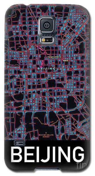 Beijing City Map Galaxy S5 Case
