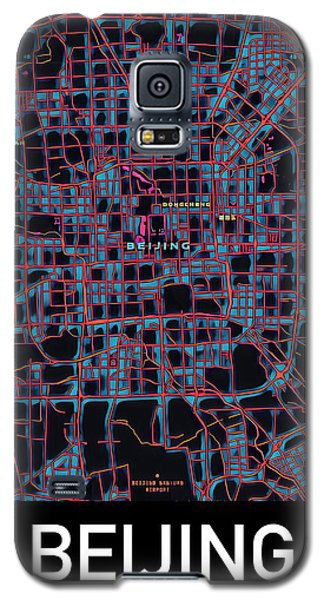 Beijing City Map Galaxy S5 Case