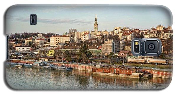 Belgrade Cityscape Galaxy S5 Case