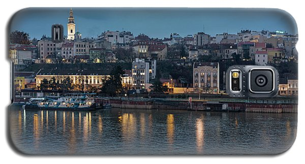 Belgrade Skyline And Sava River Galaxy S5 Case