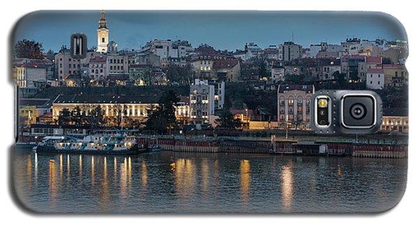 Belgrade Skyline And Sava River Galaxy S5 Case