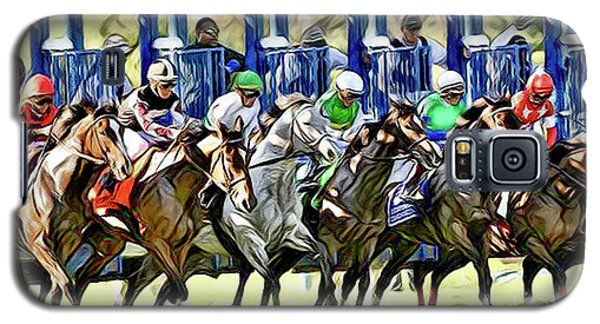 Belmont Park Starting Gate 1 Galaxy S5 Case