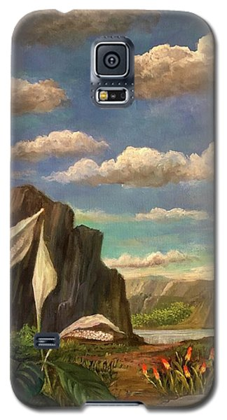 Beneath The Clouds Of Africa Galaxy S5 Case
