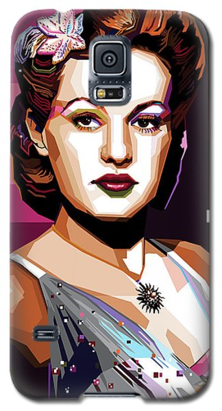 Betty Grable Galaxy S5 Case