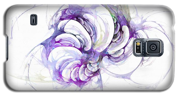 Beyond Abstraction Purple Galaxy S5 Case