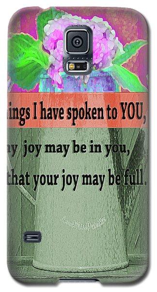 Bible Verses  Art 131 Galaxy S5 Case