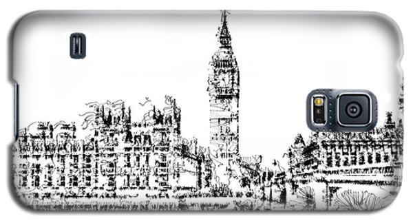 Galaxy S5 Case featuring the digital art Big Ben by ISAW Company