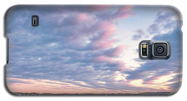 Big Sky Over Portsmouth Light. Galaxy S5 Case