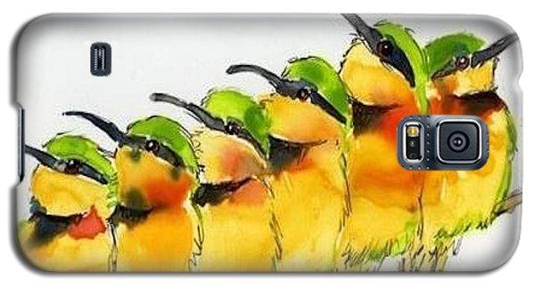 Birds On A Wire Galaxy S5 Case