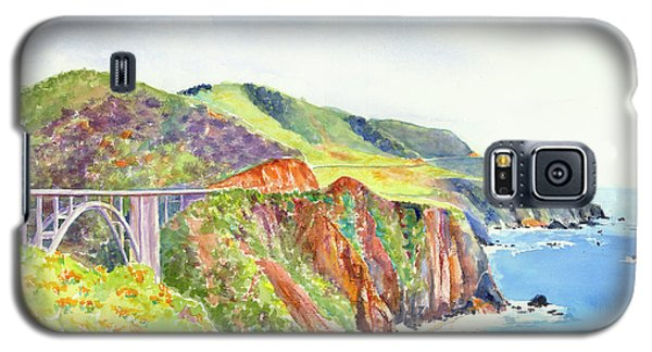 Bixby Bridge 2 Big Sur California Coast Galaxy S5 Case