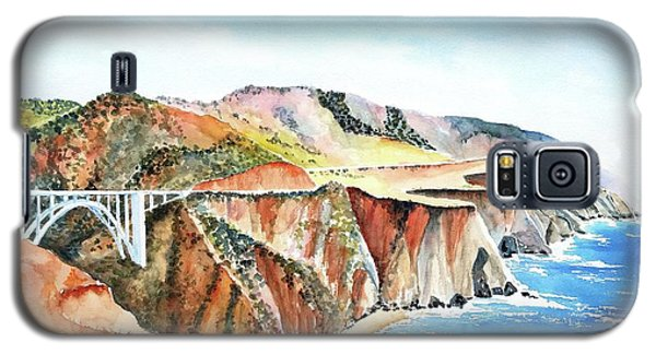 Bixby Bridge 3 Big Sur California Coast Galaxy S5 Case
