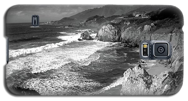 Black And White Big Sur Galaxy S5 Case