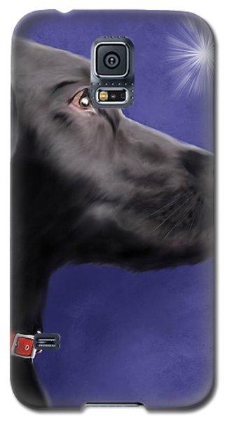 Black Labrador Retriever - Wish Upon A Star  Galaxy S5 Case