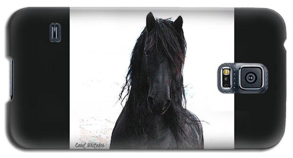 Black Pearl Gaze Galaxy S5 Case