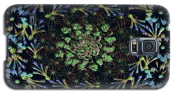 Galaxy S5 Case featuring the photograph Black Russian Flora by Rockin Docks