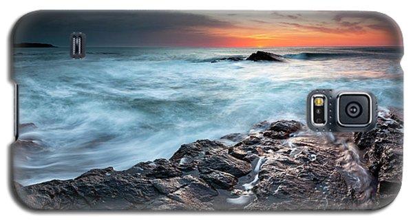 Black Sea Rocks Galaxy S5 Case
