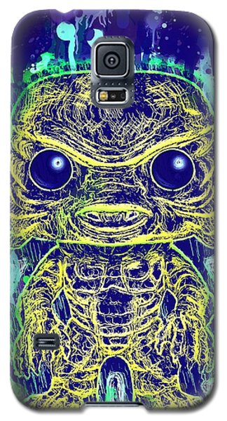 Creature From The Black Lagoon Pop Galaxy S5 Case