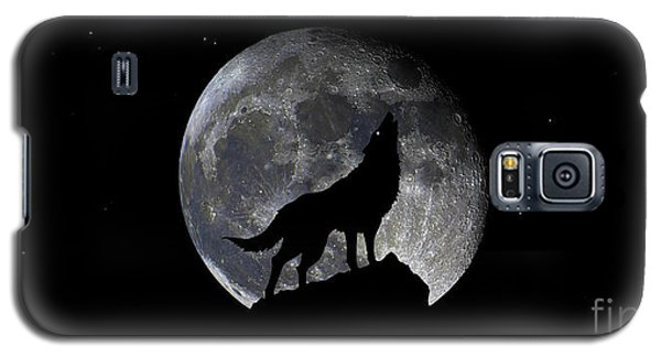 Pre Blood Red Wolf Supermoon Eclipse 873r Galaxy S5 Case