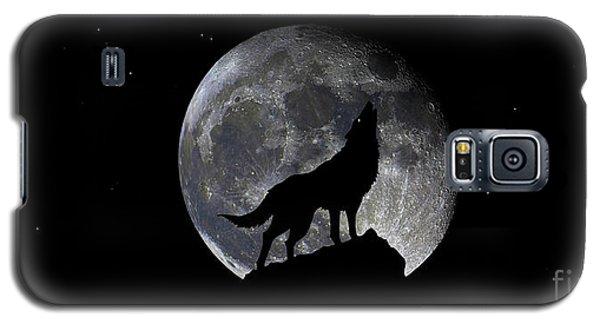 Pre Blood Red Wolf Supermoon Eclipse 873r Galaxy S5 Case