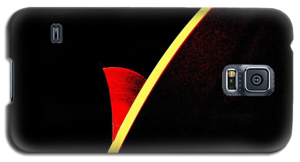 Bloodmoonrise Abstract Galaxy S5 Case