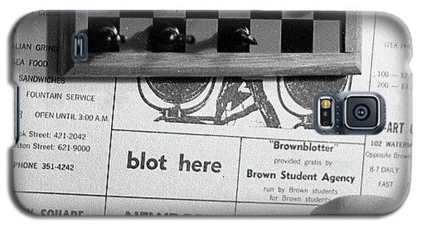 Blot Here, Aka Black's Move, 1972 Galaxy S5 Case